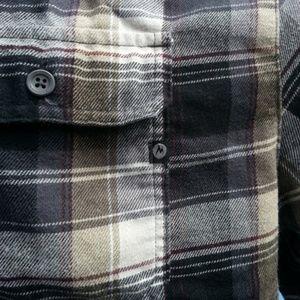 "Marmot Shirts - Marmot ""Jasper"" plaid flannel shirt 2 pockets XXL"